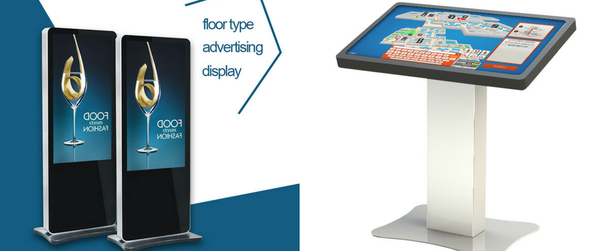 Floor Standing Display Stands Amp Touchscreens Seq