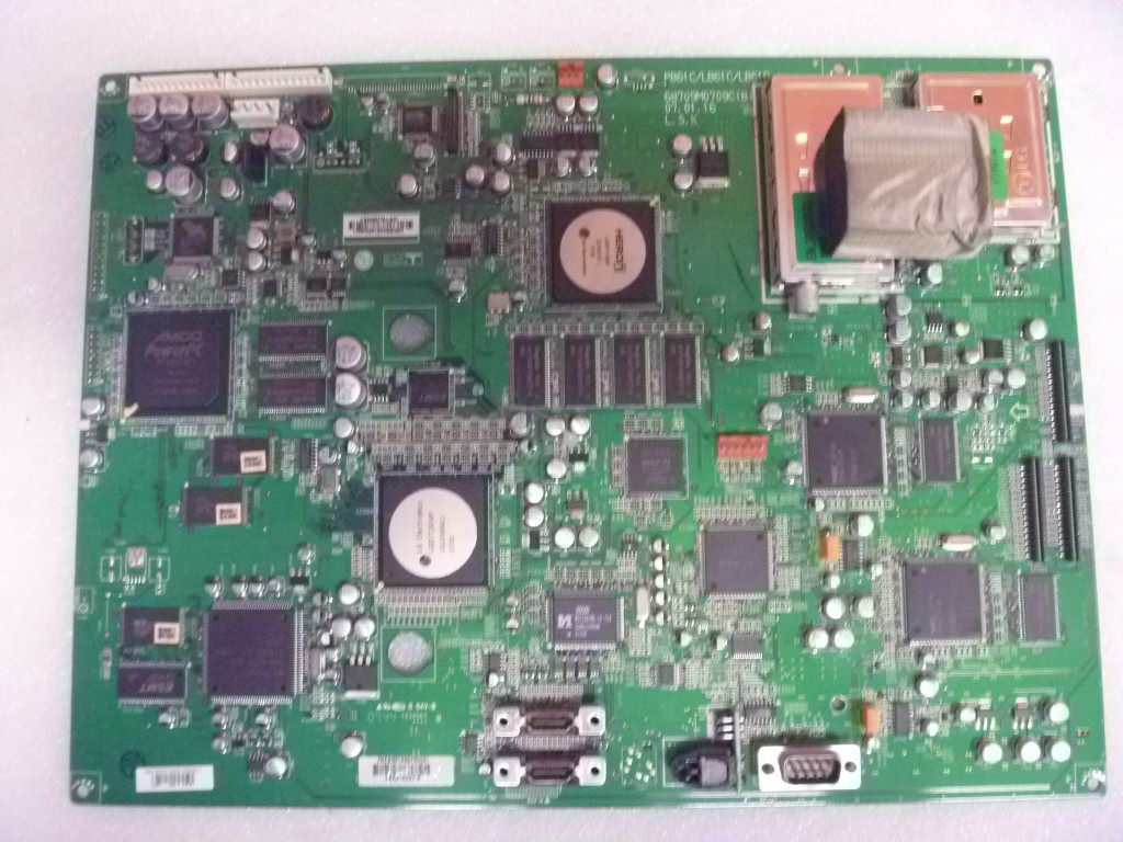 Broken Tv Main Printed Circuit Board For Repair Wiring Diagrams Univex 5 Amp Breaker F3040169 Oem Replacement Parts Pcb Seq Electronics Rh Net Au